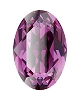 Swarovski 4128 Xilion Oval Fancy Stone 10x8mm Amethyst (144 Pieces)